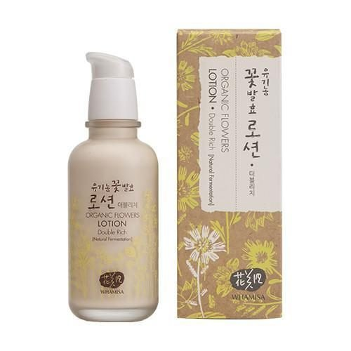 Whamisa Organic Flower Lotion Double Rich